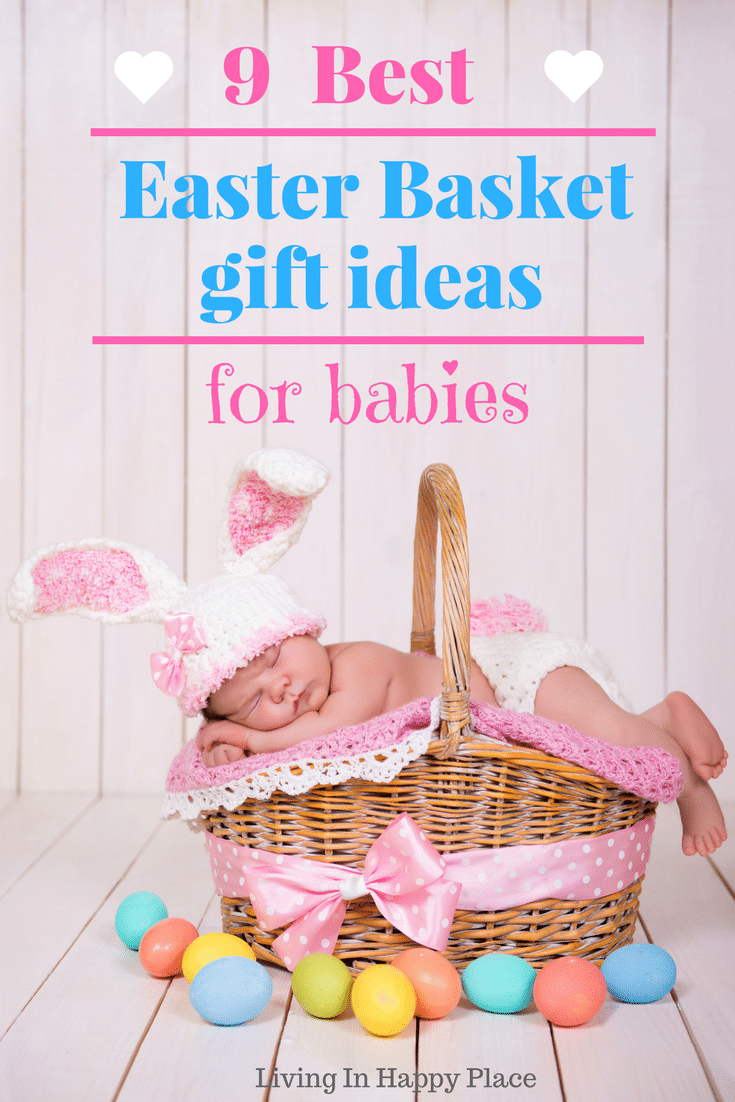 Easter basket ideas for babies easter gift ideas for baby save negle Images
