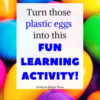 reuse plastic eggs