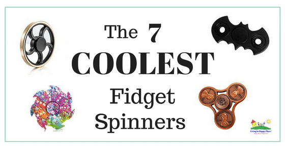 7 Coolest Fidget Spinners Toys