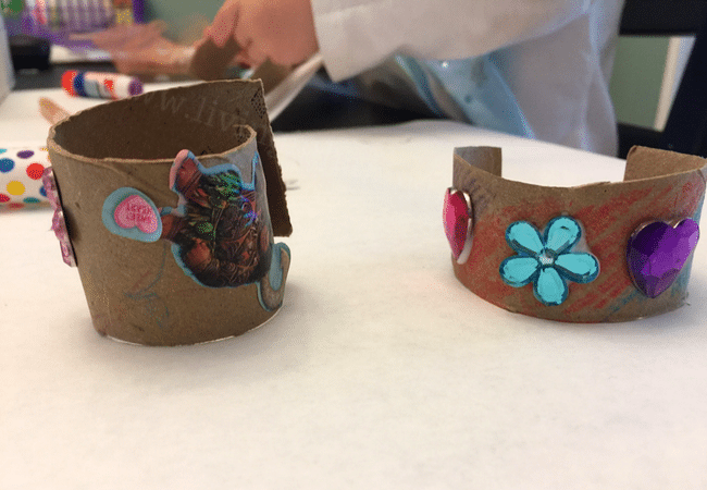 Mother' Day craft bracelets