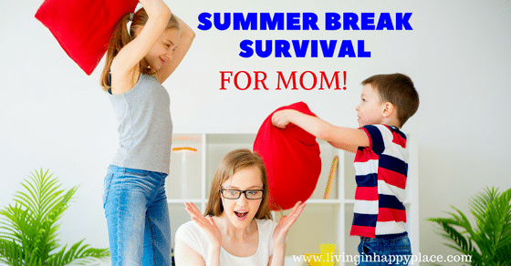 Summer Survival for Moms! 7 Tips to help mom survive summer break
