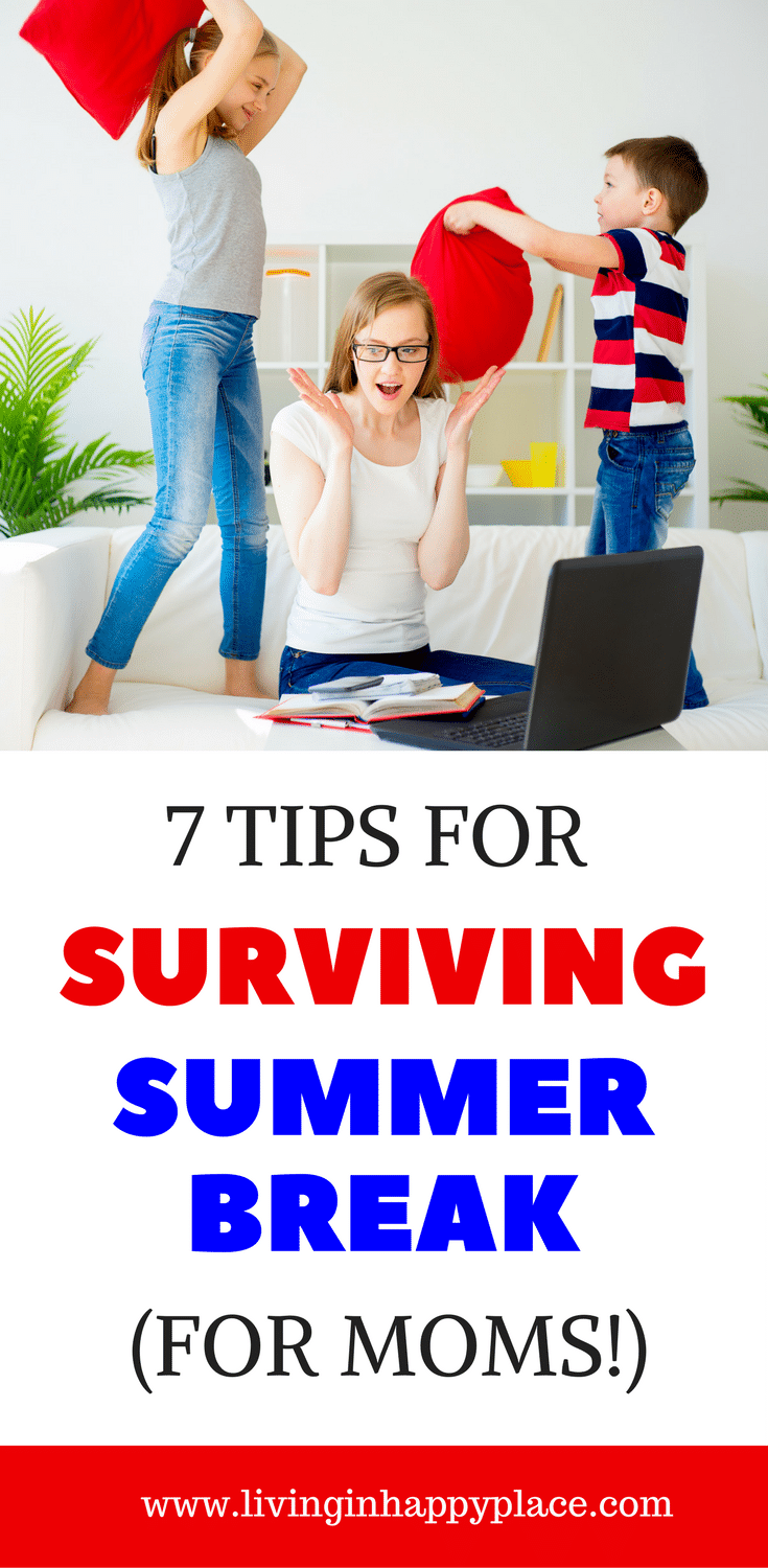 summer survival tips for moms