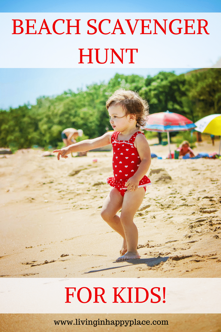 BEACH SCAVENGER HUNT FOR KIDS