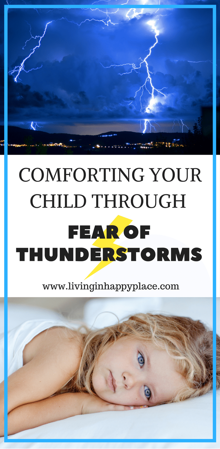 Help your child overcome a fear of thunderstorms