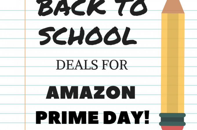PRIME DAY BACK TO SCHOOL DEALS