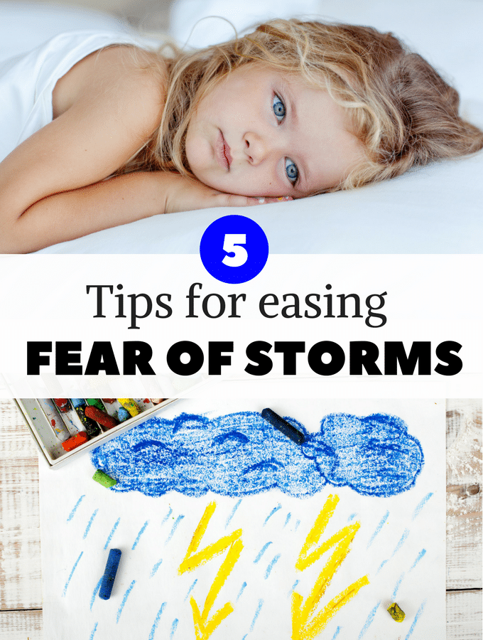Helping your child through a fear of thunderstorms
