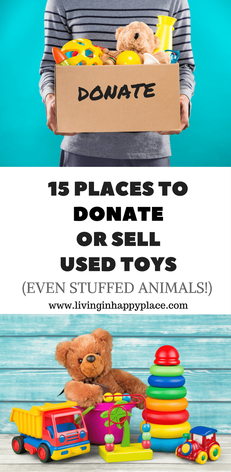 Toys For Donation : Where to donate used toys or sell places