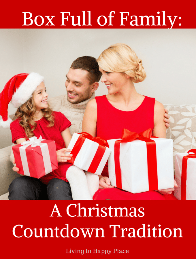 Box Full of Family: A Christmas Countdown to celebrate family