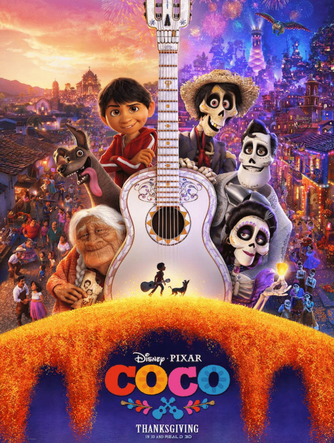 Disney's Coco Coloring Pages
