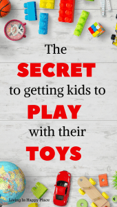 Toy clean out ideas and toy organization