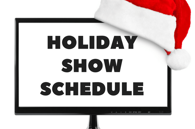 2017 Christmas specials complete tv schedule! All the networks, all the specials, all the Christmas classics in one printable list!