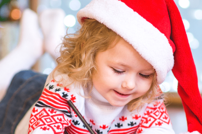 Christmas Eve checklist for kids