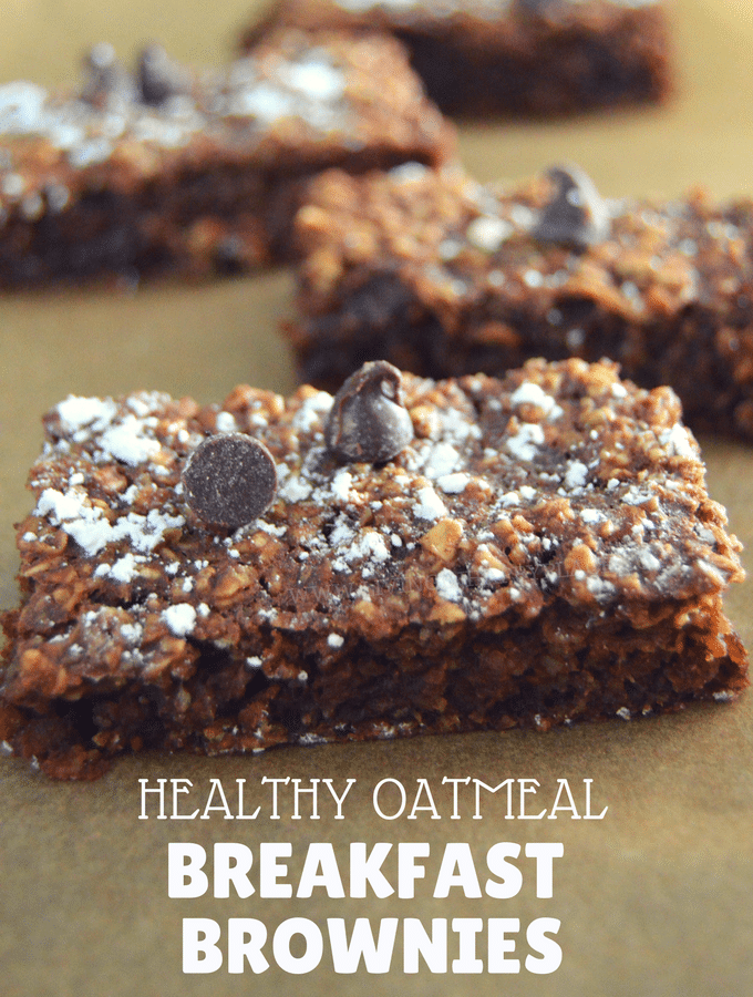 This healthy twist on breakfast brownies will knock your socks off!