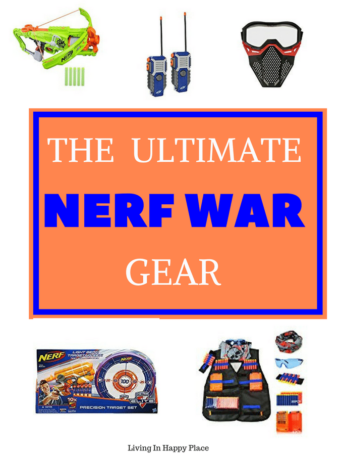Coolest Nerf war accessories to turn your backyard battle into the ultimate Nerf War!