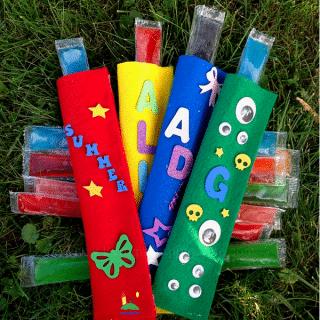 summer popsicle holders