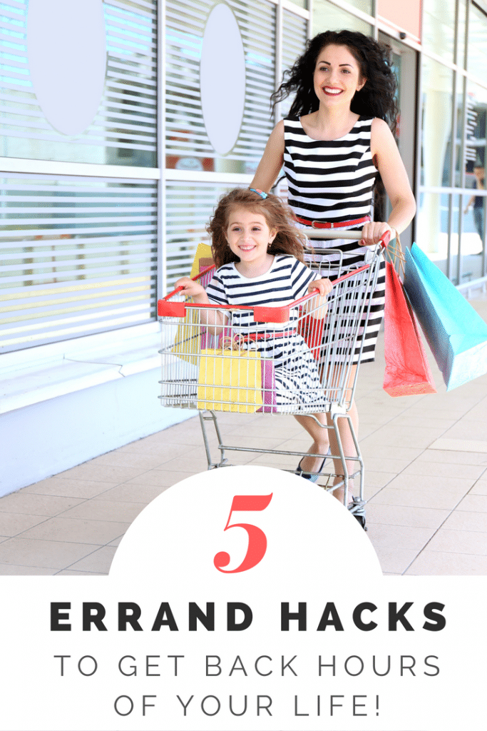 Running Errands Hacks For Busy Moms