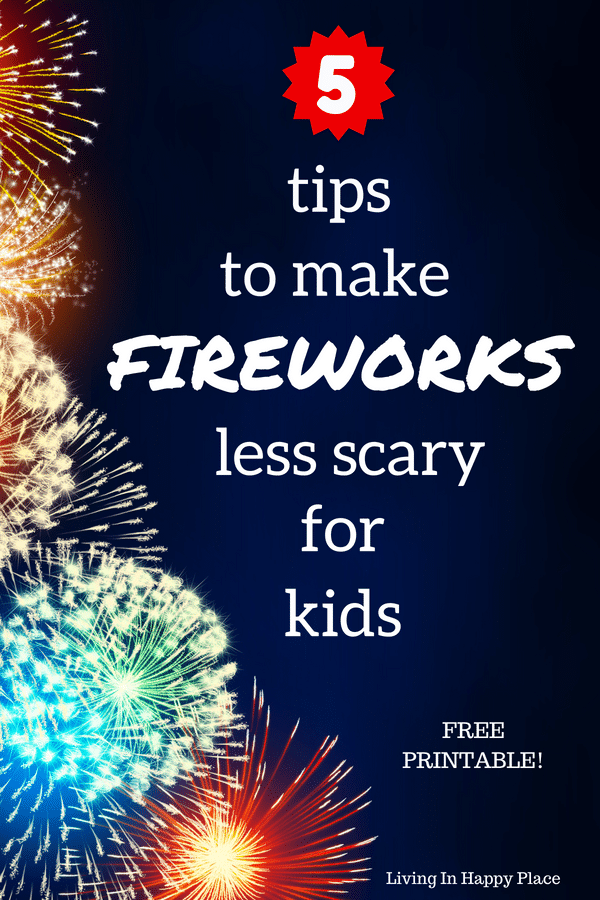 Making fireworks less scary for kids