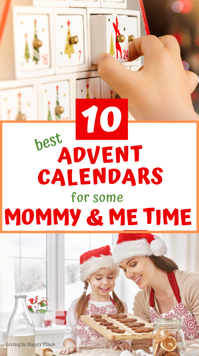 Advent calendars for kids and Mommy and Me time