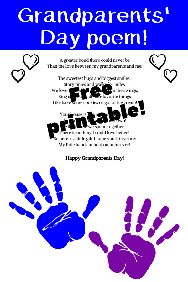 fingerprint poem for grandparents
