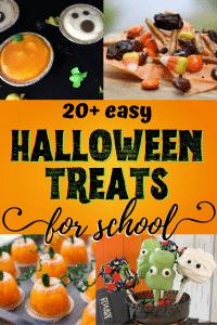 easy Halloween treats for school