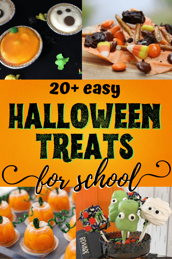 Super easy Halloween treats for school parties!