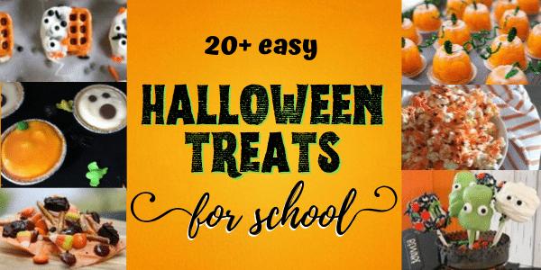 easy halloween treats for school parties